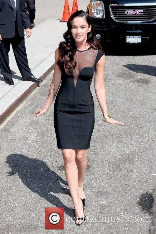 Megan Fox and David Letterman 2