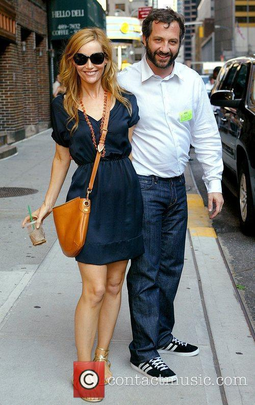 Leslie Mann and David Letterman 6