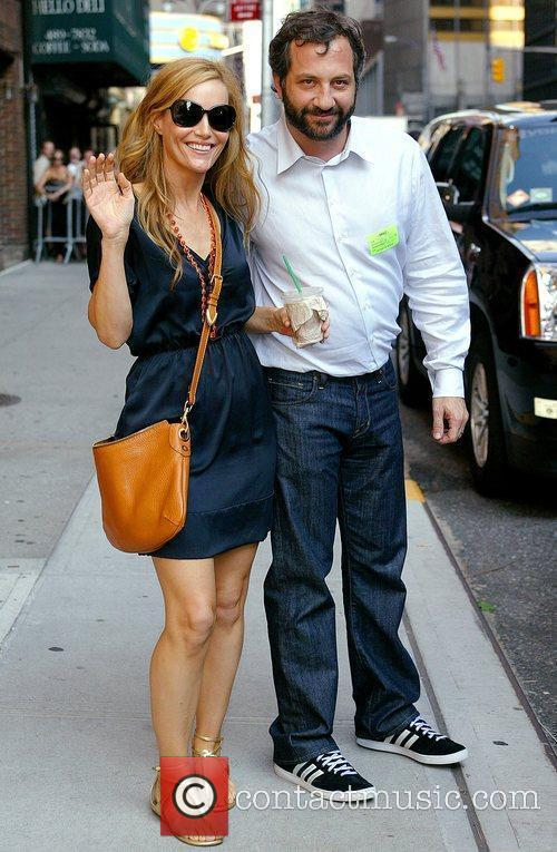 Leslie Mann and David Letterman 2
