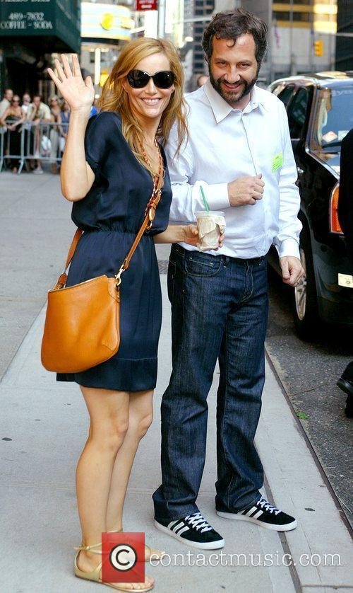 Leslie Mann and David Letterman 4