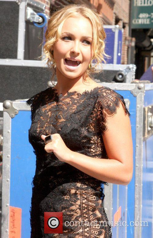 Hayden Panettiere, David Letterman and Ed Sullivan Theatre 18