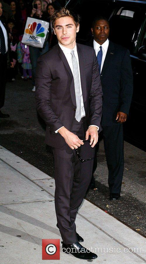 Zac Efron and David Letterman 1