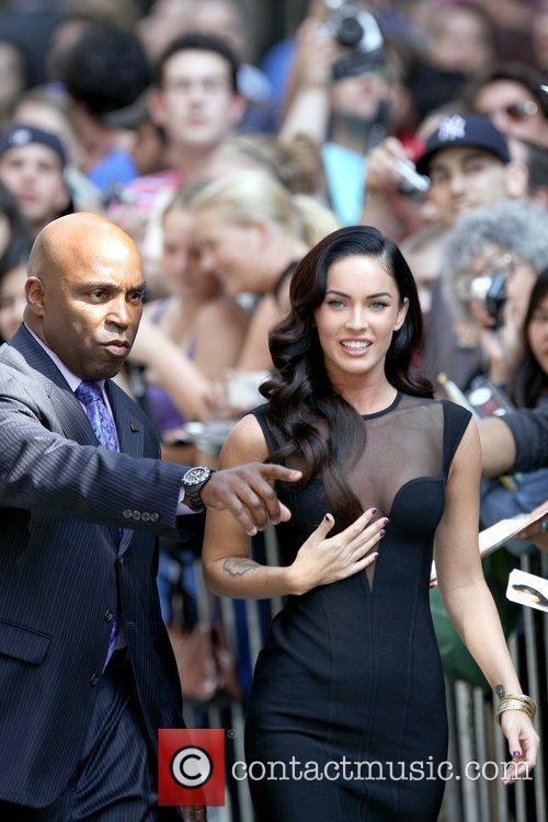 Megan Fox and David Letterman 8