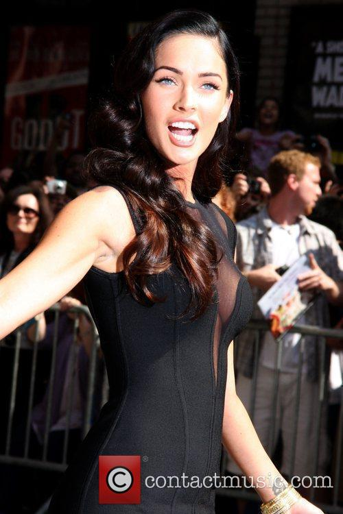 Megan Fox and David Letterman 10