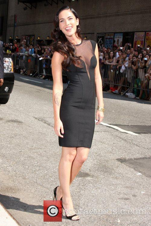 Megan Fox and David Letterman 1
