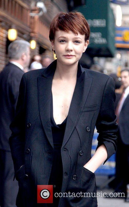 Carey Mulligan and David Letterman 10
