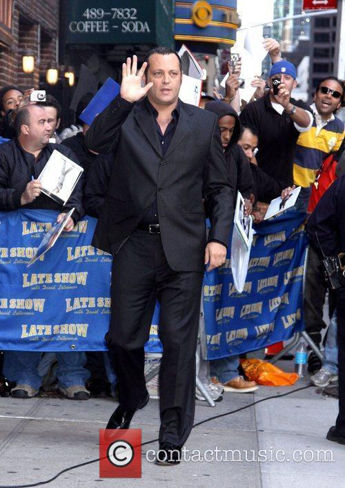 Vince Vaughn and David Letterman 7