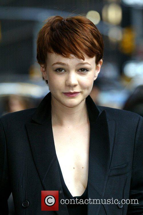 Carey Mulligan and David Letterman 5