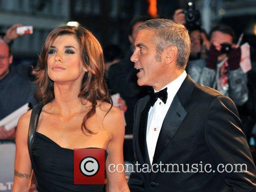 George Clooney and Elisabetta Canale 1
