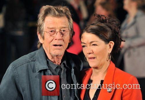 John Hurt and Ann Rees Meyers The Times...