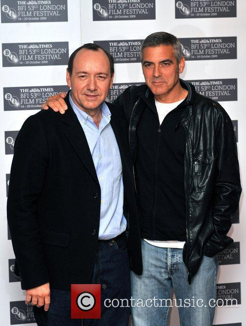 George Clooney and Kevin Spacey The Times BFI...