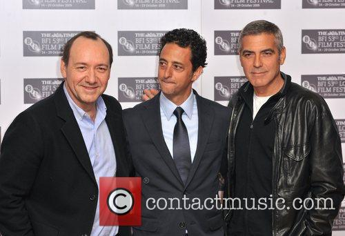 Kevin Spacey, George Clooney, Grant Heslov The Times...