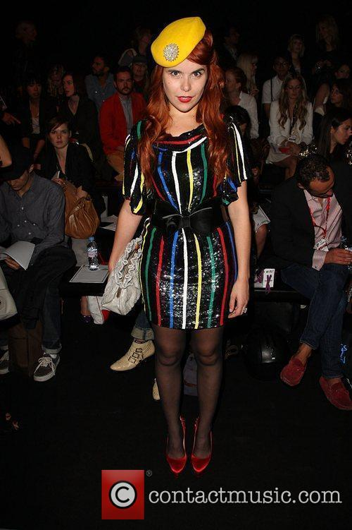 Paloma Faith 25th anniversary London Fashion Week Spring/Summer...