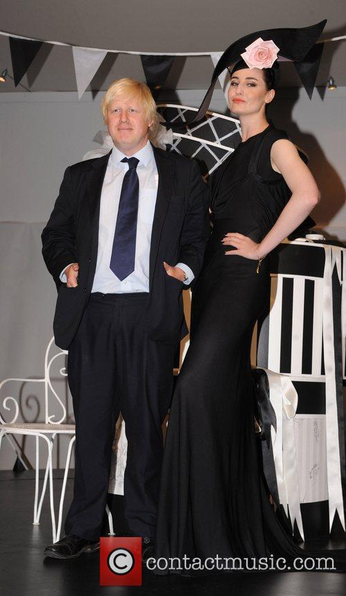 Boris Johnson and Erin O'connor 1