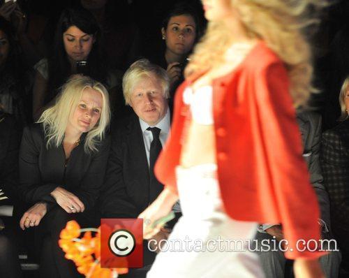 Boris Johnson 25th anniversary London Fashion Week Spring/Summer...