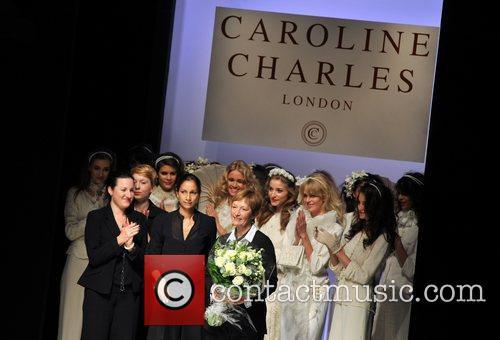 Caroline Charles 25th anniversary London Fashion Week Spring/Summer...