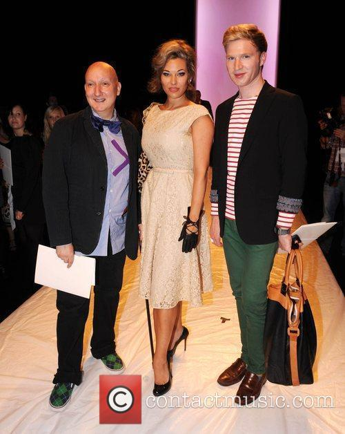 Stephen Jones and Henry Conway attend London Fashion...