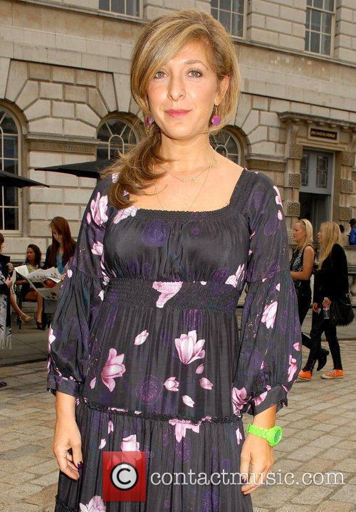 Tracy-Ann Oberman attends London Fashion Week held at...