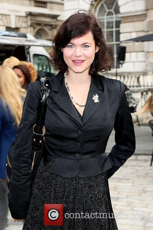 Attends London Fashion Week held at Somerset House