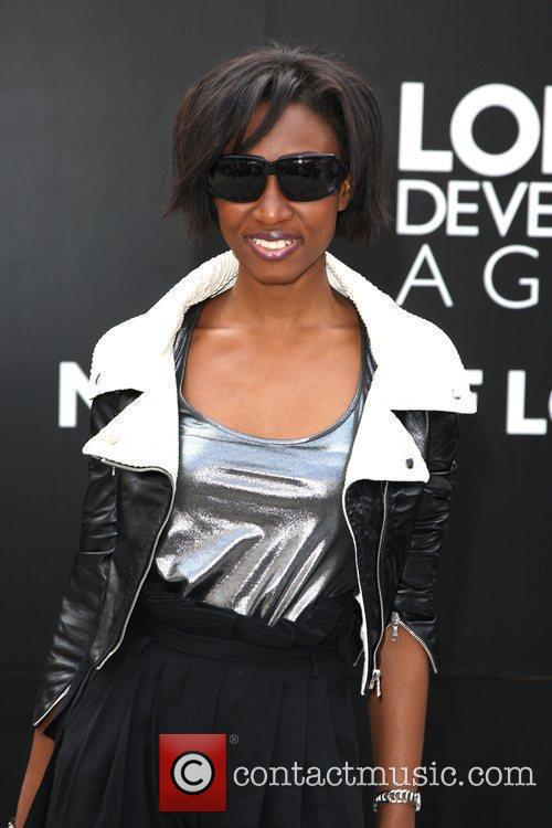 Beverley Knight attends London Fashion Week held at...