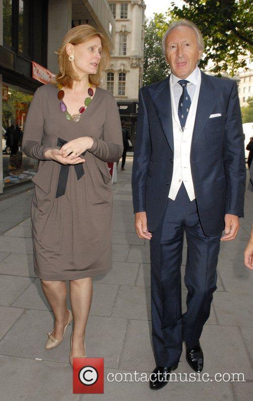 Sarah Brown and Harold Tillman  attend London...