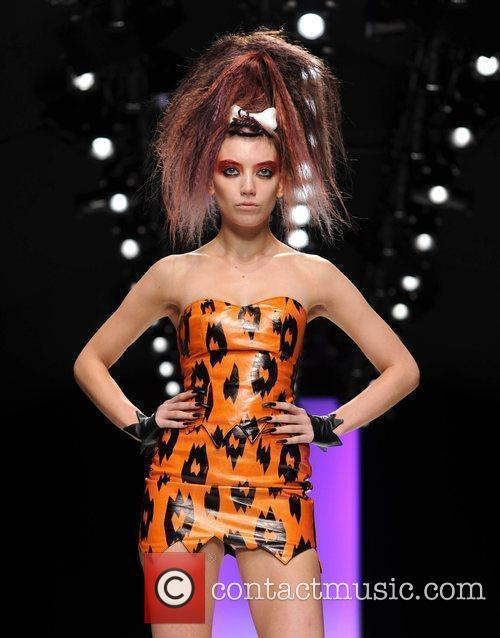 Daisy Lowe  25th anniversary London Fashion Week...