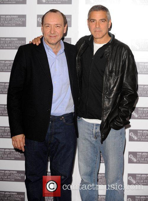 George Clooney and Kevin Spacey 2