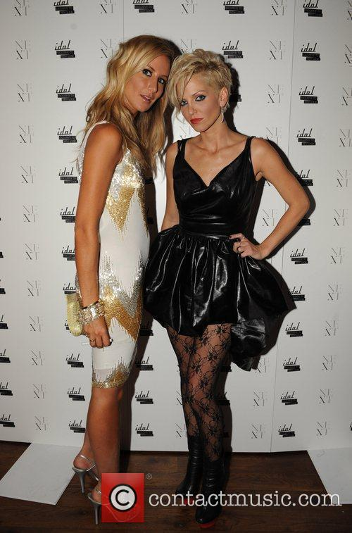 Lady Victoria Hervey and Sarah Harding 25th anniversary...