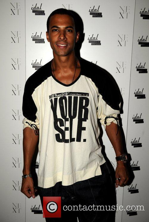 Marvin Humes of JLS 25th anniversary London Fashion...