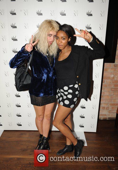 Pixie Geldof and Remi Nicole 1
