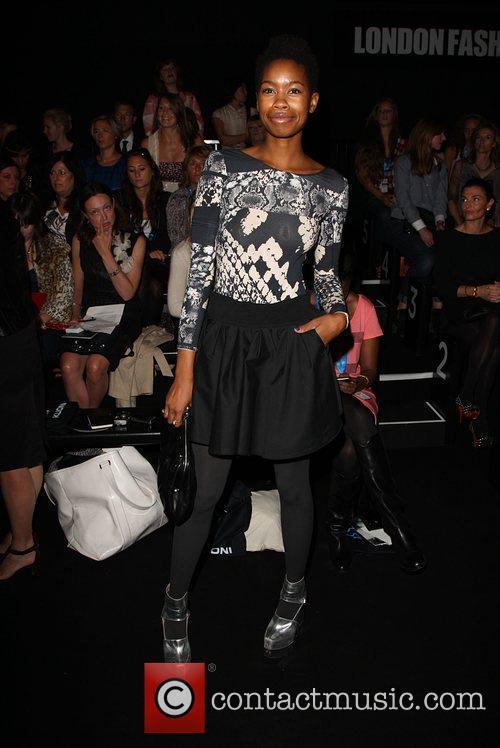 Tolula Adeyemi 25th anniversary London Fashion Week Spring/Summer...