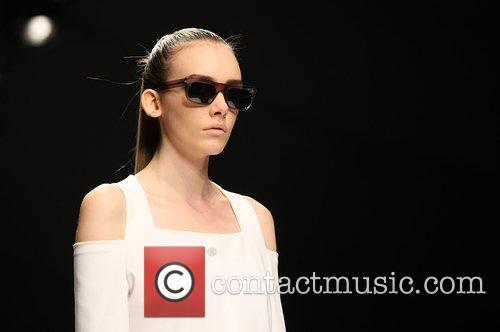 Model 25th anniversary London Fashion Week Spring/Summer 2010...