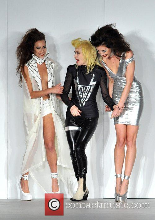 Alice Dellal, Pam Hogg and Daisy Lowe 2