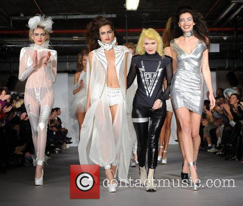 Alice Dellal, Pam Hogg and Daisy Lowe 25th...