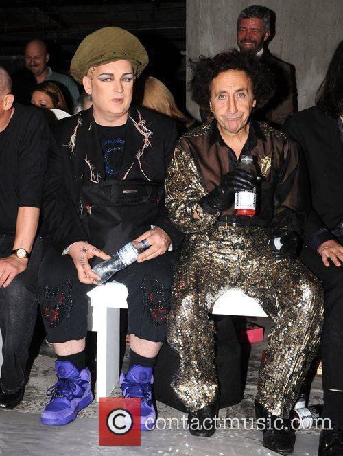 Boy George  25th anniversary London Fashion Week...
