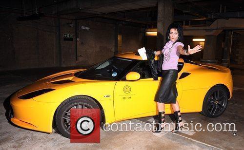 Siouxie Sioux 25th anniversary London Fashion Week Spring/Summer...