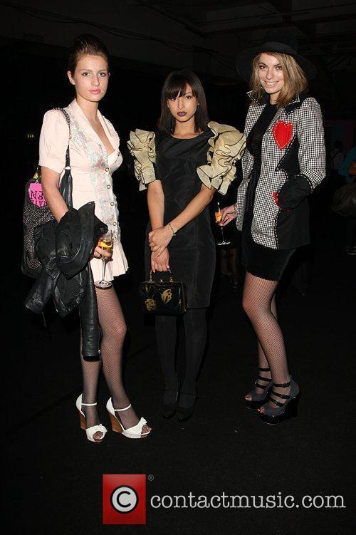 Lola Lennox, Leah Weller and Tali Lennox 25th...