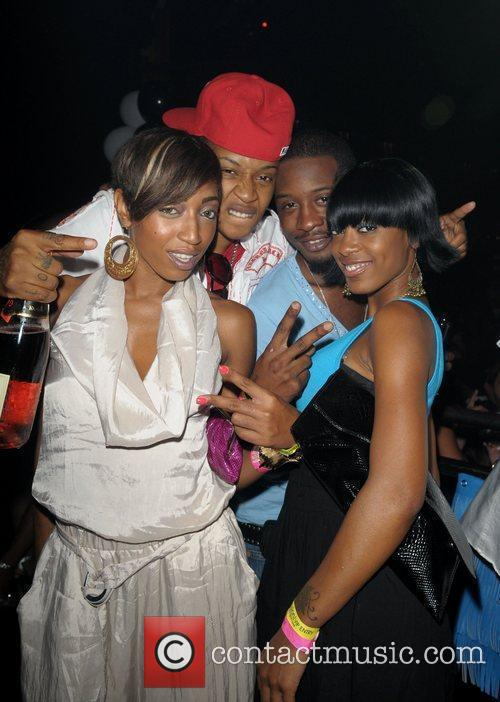 KD and Pretty Money Lil' Kim's birthday celebration...