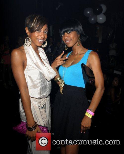 Pretty Money Lil' Kim's birthday celebration at Mansion...
