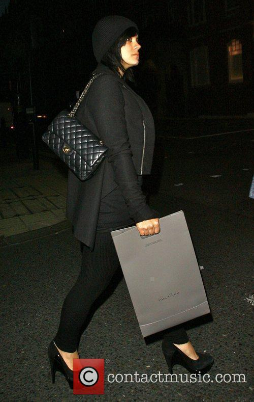 Lily Allen  carrying a 'Rich Owens' bag...
