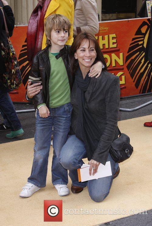 Andrea Mclean and Her Son Finlay 6
