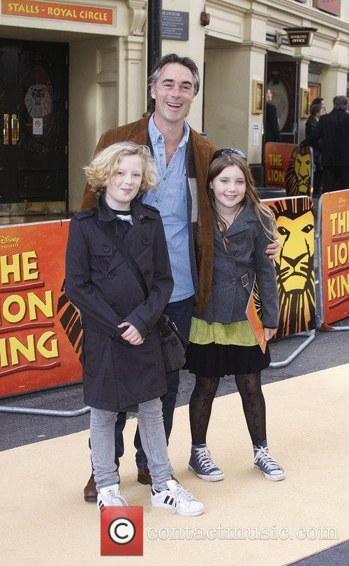 Greg Wise Disney's 'Lion King' 10th anniversary at...