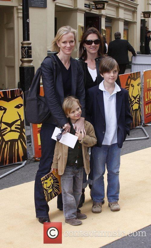 Hermione Norris and Guests Disney's 'Lion King' 10th...