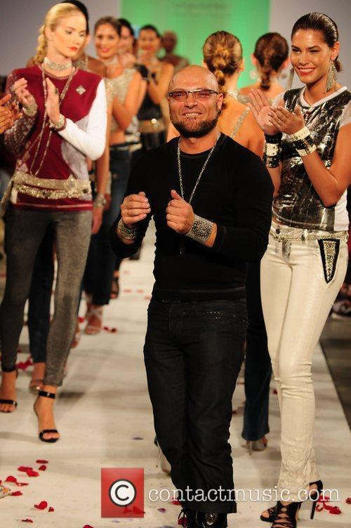 Designer Sergio Gutierrez  ILiquid Metal Fashion Show...