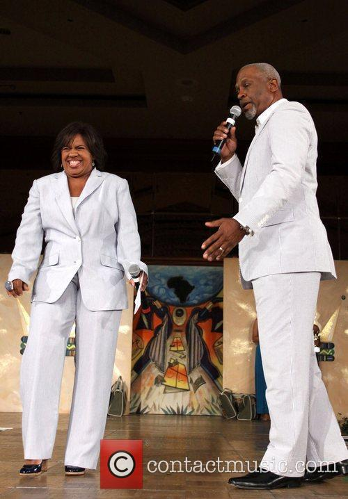 Chandra Wilson and James Pickens 4