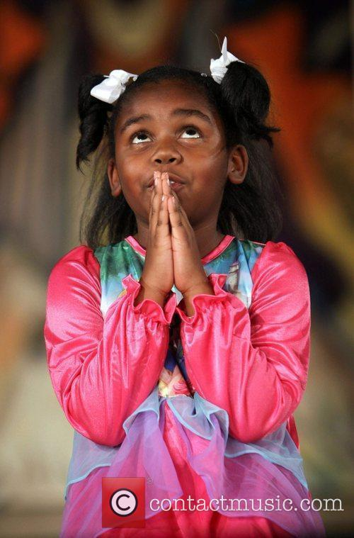 Contestant The 16th Annual Little Miss African American...