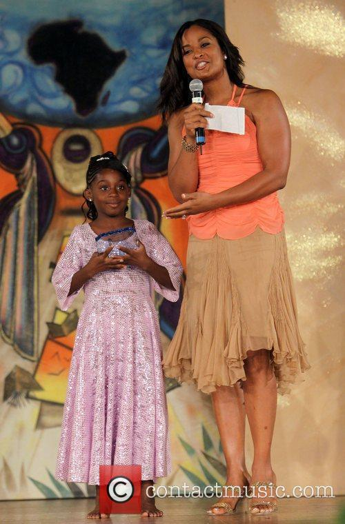 Laila Ali and contestant The 16th Annual Little...