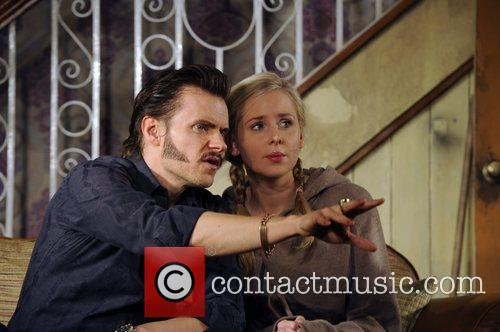 Marc Warren and Diana Vickers 2