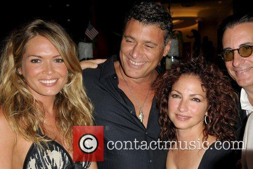 Cindy Taylor, Steven Bauer, Gloria Estefan and Andy...