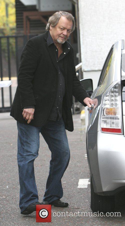 David Soul outside the London Studios London, England
